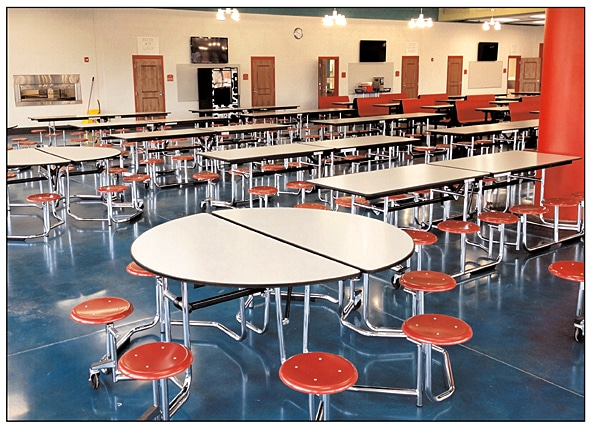Supply Solutions | School Equipment | Cafeteria Tables