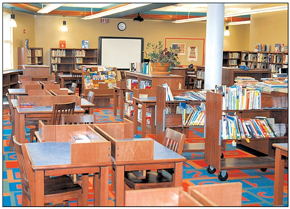 Supply Solutions | School Equipment | Commercial Furniture | Library Tables | Carts | Bookshelves